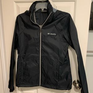Columbia light weight ran jacket